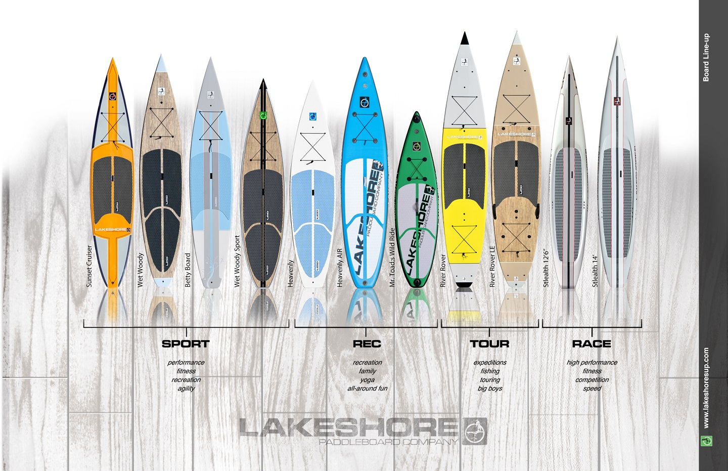 2016 board line-up
